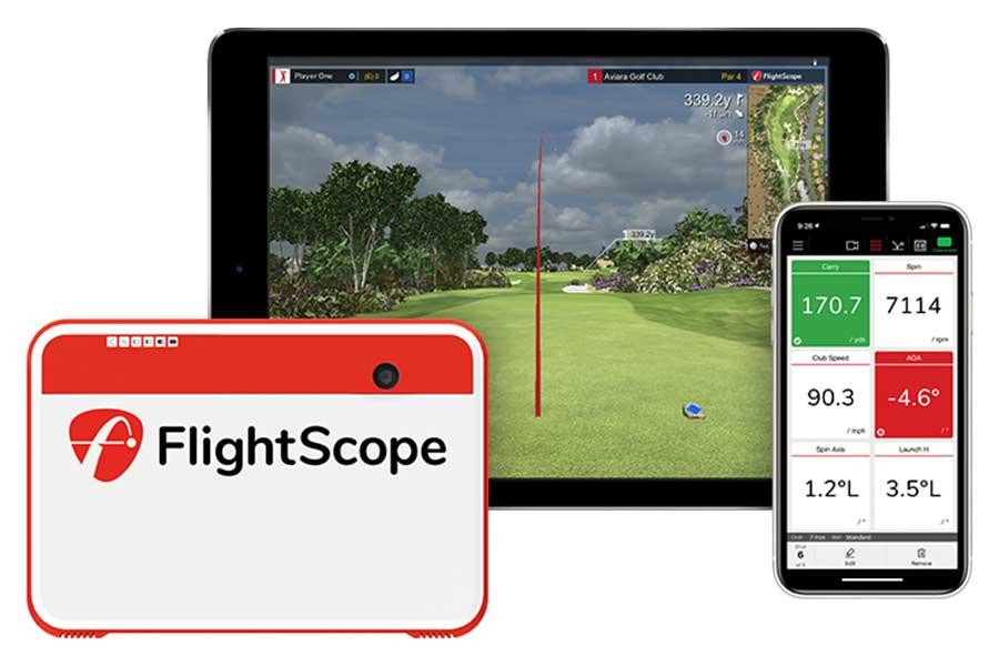 Flightscope Training bei der Smart Golf Akademie
