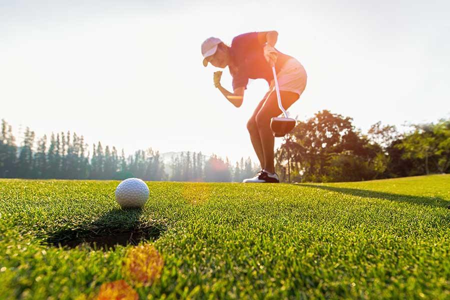 Kurzes Spiel bei der Smart Golf Akademie