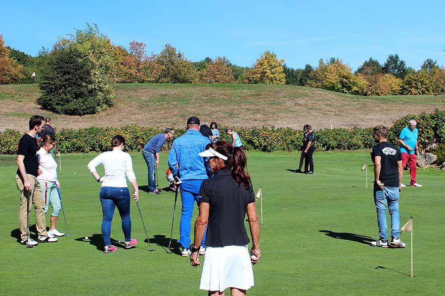 Schnupperkurs bei der Smart Golf Akademie